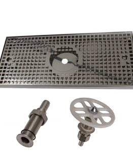 DRIP TRAYS - WITH RINSING SYSTEM